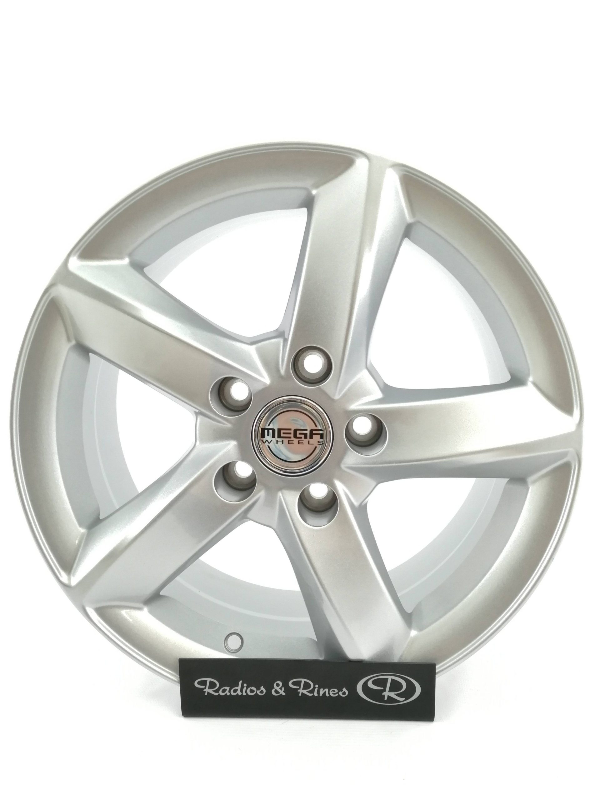 RIN RACER 890 R16X7 5H 114.3 PEAL SILVER