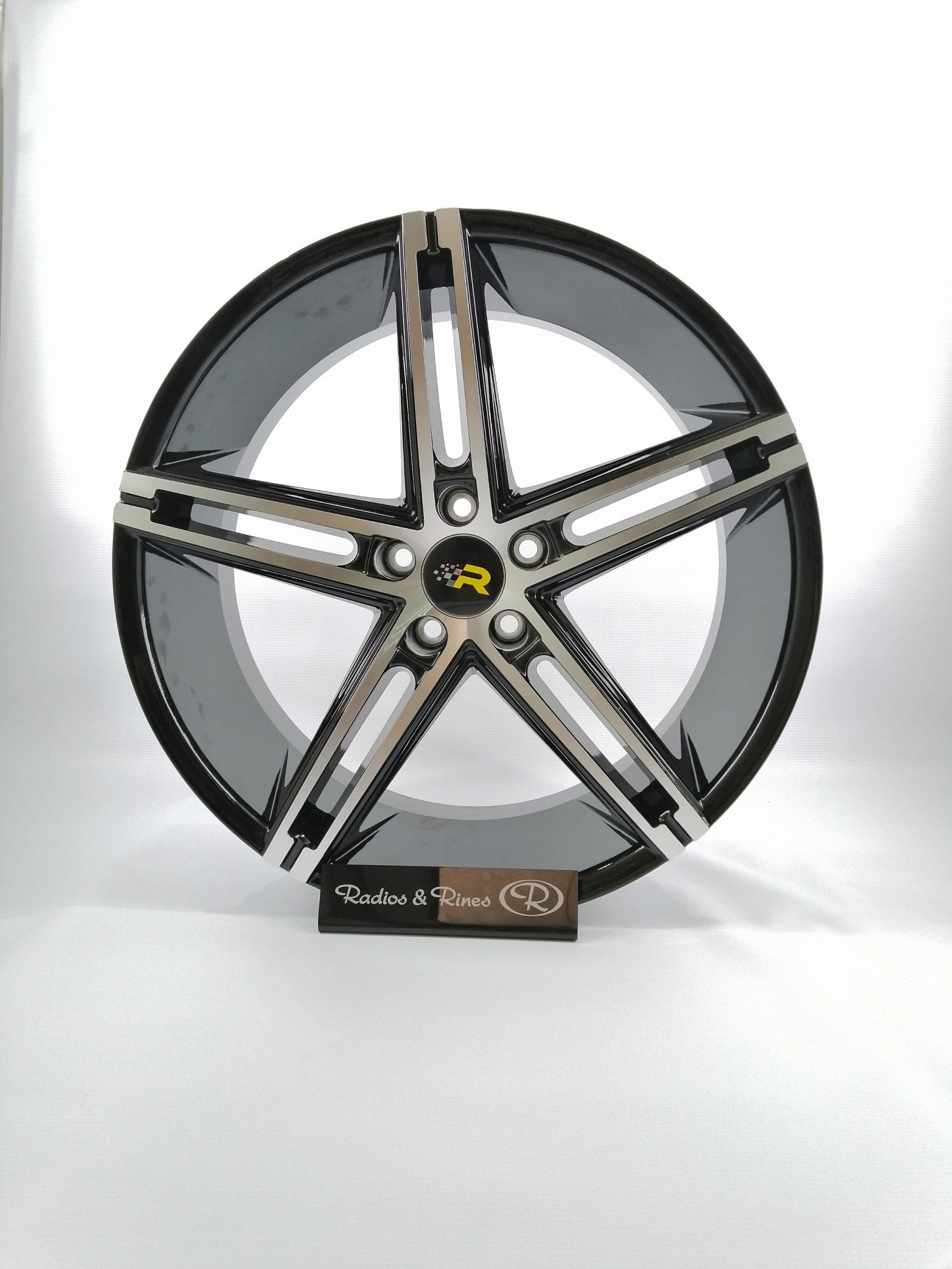 RIN RACER 67 R20 5H113 NEGRO MAQUINADO