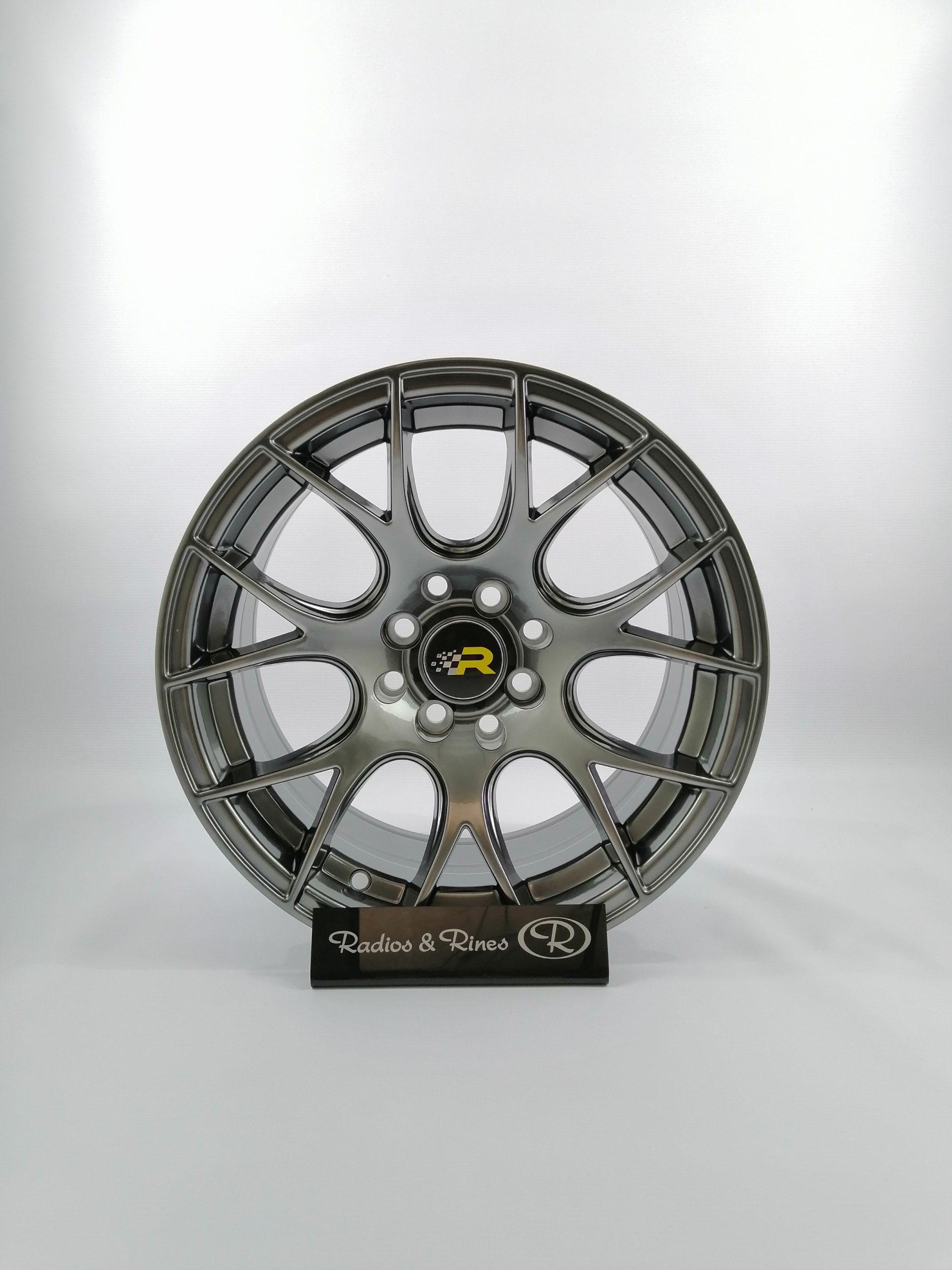 RIN RACER 192 R15X8.25 8H 100/114.3 GRIS HUMO BRILLANTE