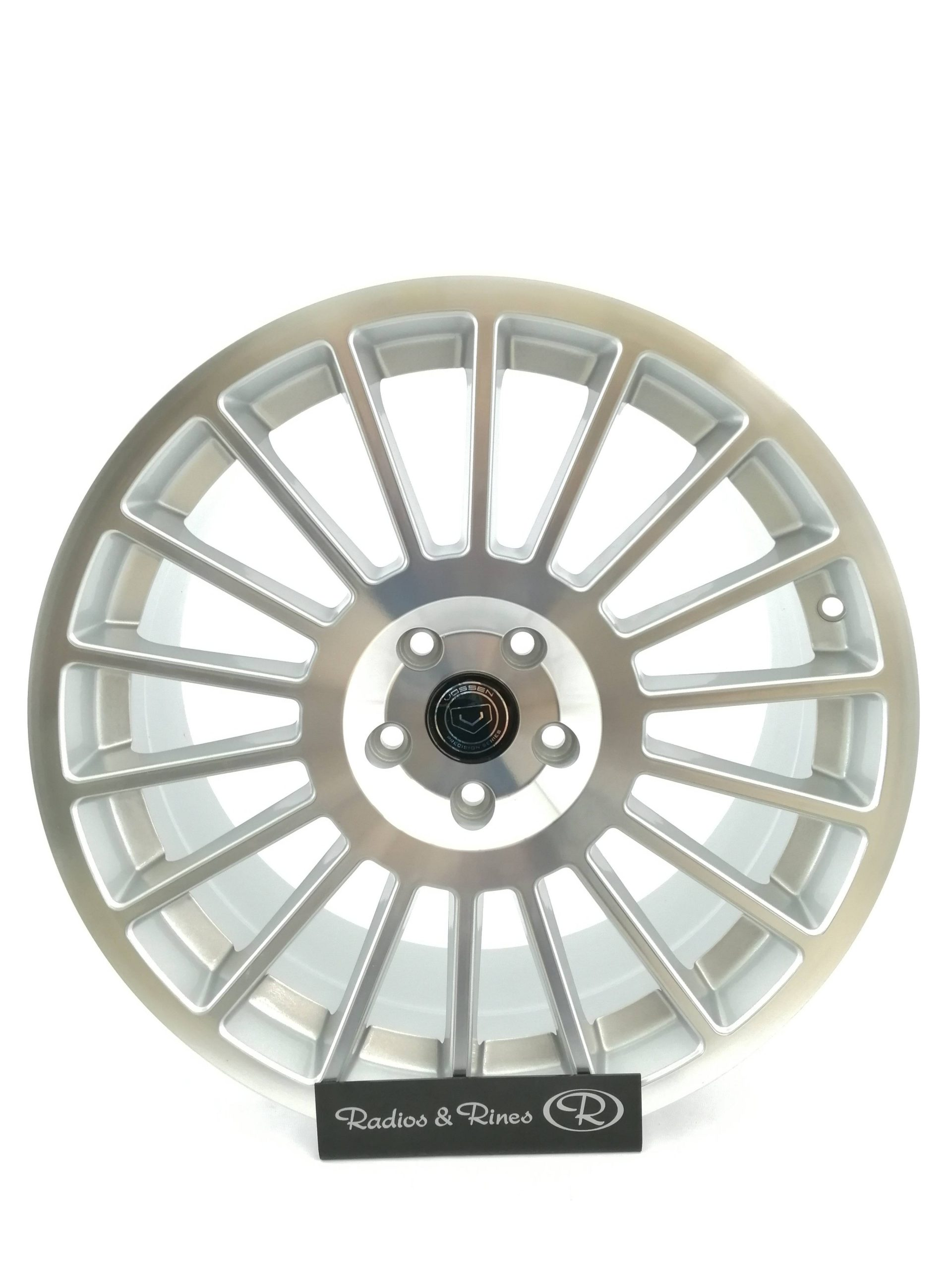 RIN RACER 193 R19X8.5 5H 112 PEAL SILVER MACHINED